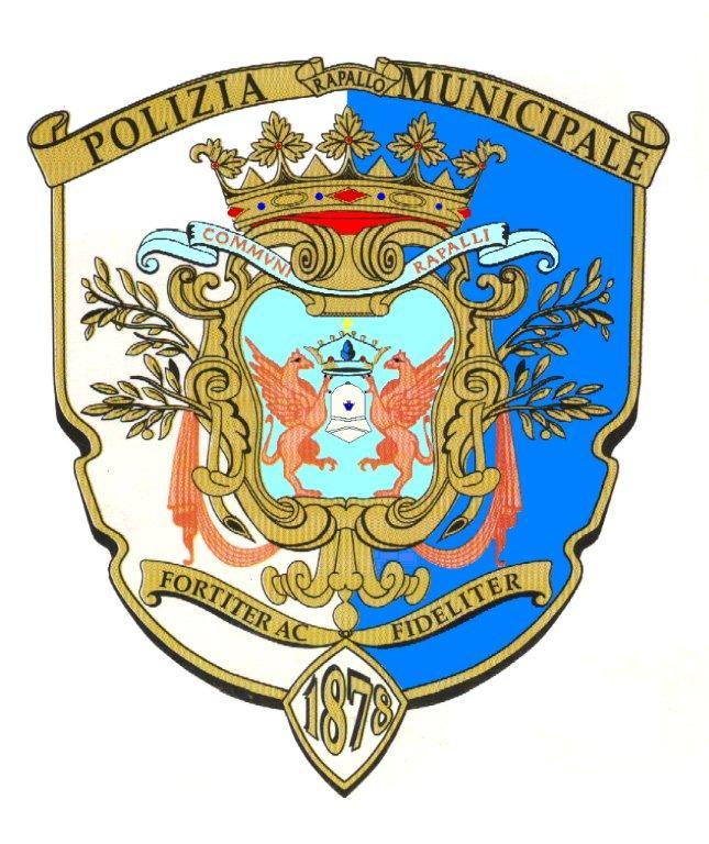 Stemma Polizia Municipale Rapallo